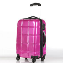hot sale 100%PC Trolley Luggage, suitcase, suit case, rigid maleta koffer