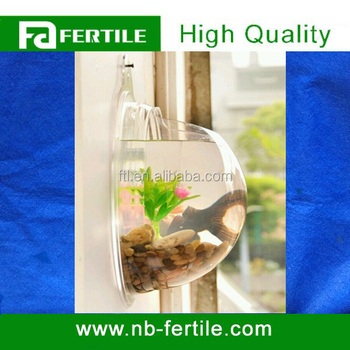 Wall Mounted Acrylic Fish Bowl For Home Decoration 708003