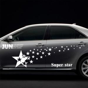 Waterproof car body side sticker design,vinyl car sticker