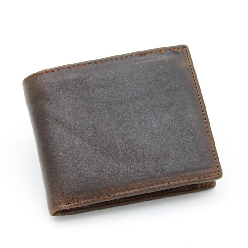 New Fashion China Manufacturer Wholesale Small MOQ Men Wallet Wholesale Mens Wallet Genuine Leather Korean Wallet