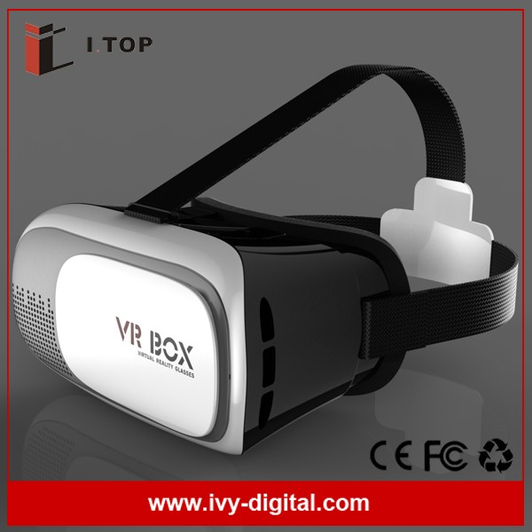 3D Glasses Virtual Game Glasses 3D Glasses VR 3D Headset Protect Your Eyes VR Box 2.0