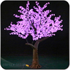 New Pink Outdoor IP65 2.5m high lighted tree cherry
