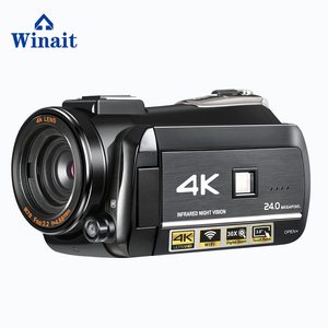 Winait UHD 4k night vision digital video camera with 3.0'' Touch display digital video recorder
