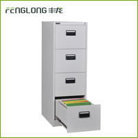 Plastic handle customized multi door metal storage case 4 drawer file metal cabinet storage document steel cabinet