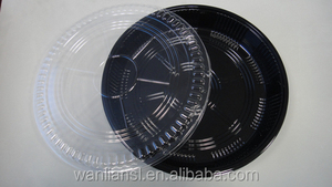 Japanese Disposable Plastic Sushi Tray with Lid