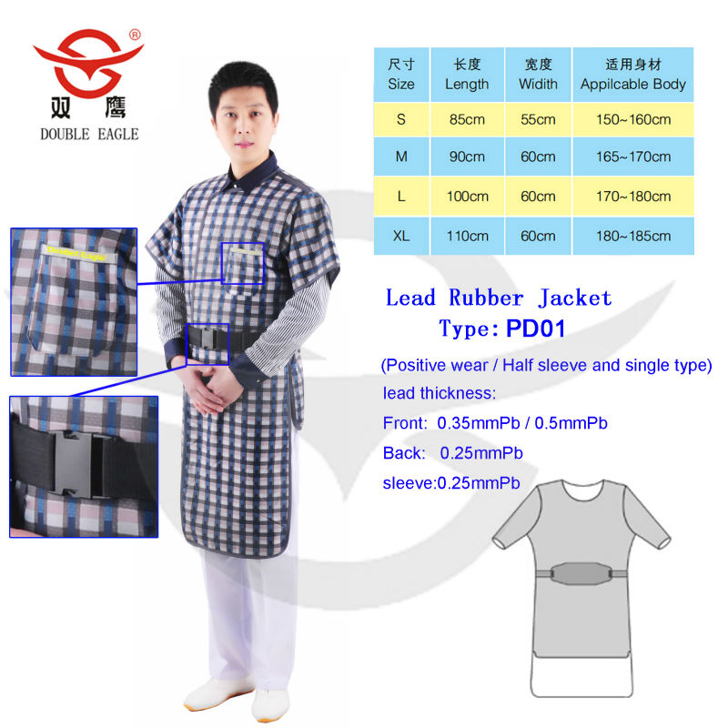 Chinese Radiation Protective Clothes Lead Skirt Lead Apron Price ...