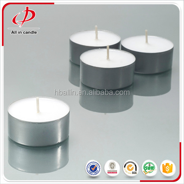 Round citronella tealight candle