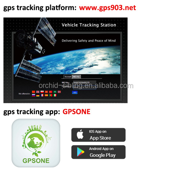 Free mobile app GPSONE vehicle gps tracker GT005, View GPS tracker,  SZORCHID Product Details from Shenzhen Orchid Electronic Technology Co ,  Ltd  on