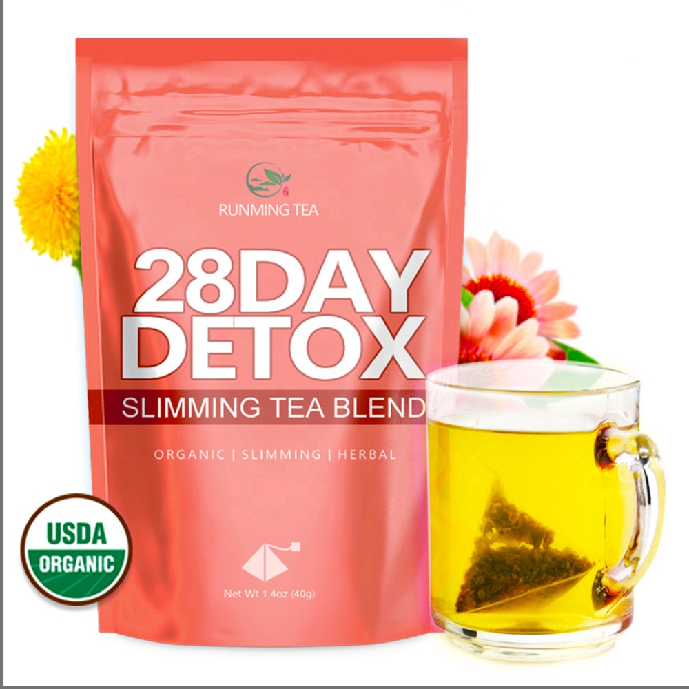 Japan Private Label ODM Skinny Ginseng Puer Slim Slimming Te Detox Tea 28 Day Ultimate Teatox Products - 4uTea | 4uTea.com