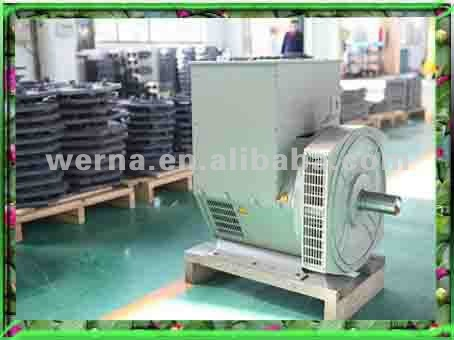 brushless alternator with superpower generator 100kw/125kva, View 100kw  brushless alternator, werna Product Details from Wuxi Werna Alternator Co ,