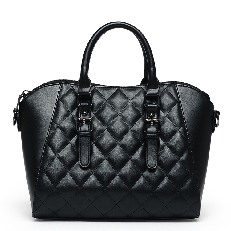 2bfdf229bb Get Quotations · Luxury Women Tote Bags Quilted Designer Leather Handbags  Classic Plaid Female Hand Bags High Quality Work