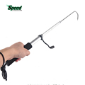 2017 Hot Selling Fisherman Outdoor Portable Telscopic Fish Gaff Stainless Fishing Spear Hook Fish Tackle Sea