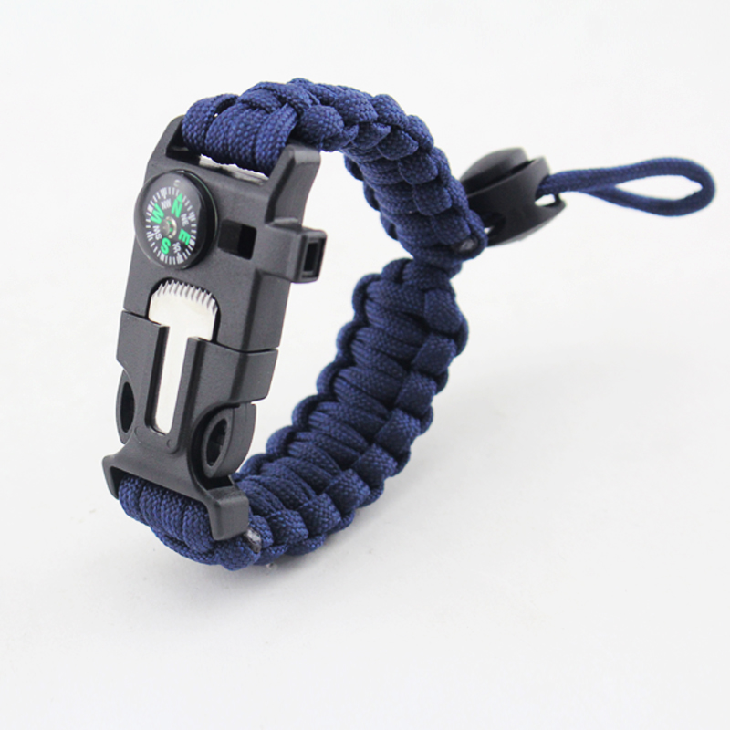 China top ten selling products Paracord Bracelet with adjustable paracord with compass