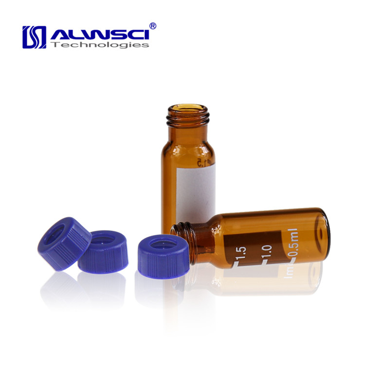 Manufacturer ALWSCI laboratory agilent varian sample glass 2ml hplc gc vials
