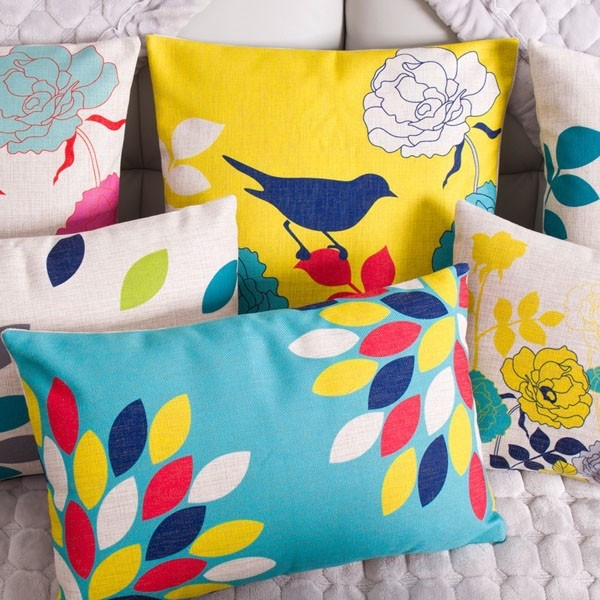 Wholesale Home Textile applique work cushion cover