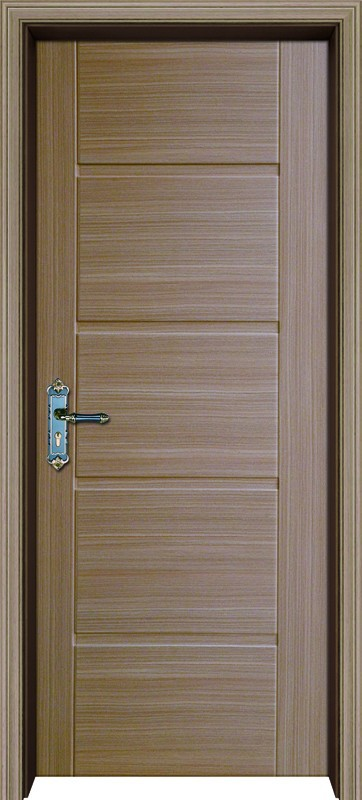 Plastic Door Material And Swing Open Style Upvc Panel Door