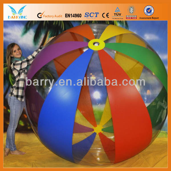 inflatable pvc big air ball
