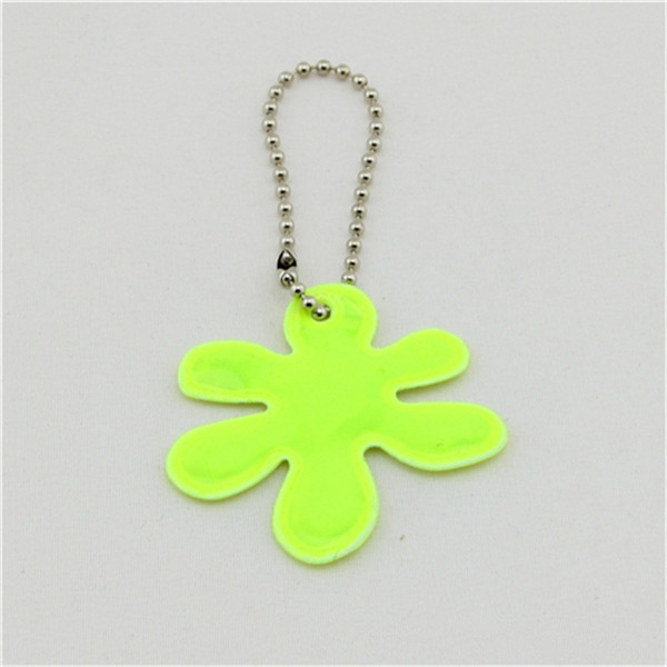 cheap reflective pvc personalize custom printed key chain holder with free sample