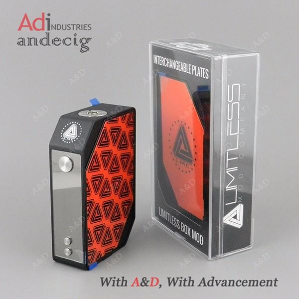 A&d Limitless Lmc 200w Box Mod In Stock,Limitless 200w Mod Best ...