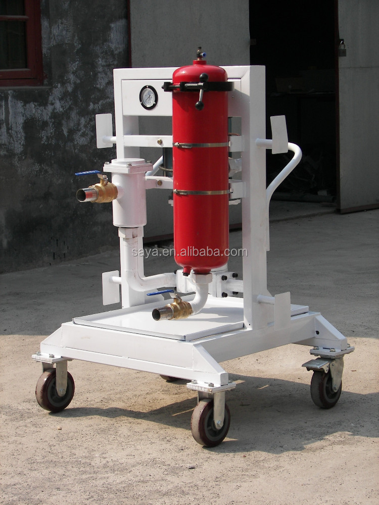 GHLUC-32-* removal from oil machine used for turbine oil purification plant