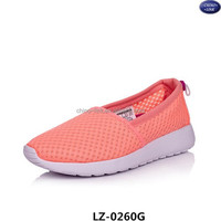 Latest style mens and women comfortable athletic design slip on runing casual shoes