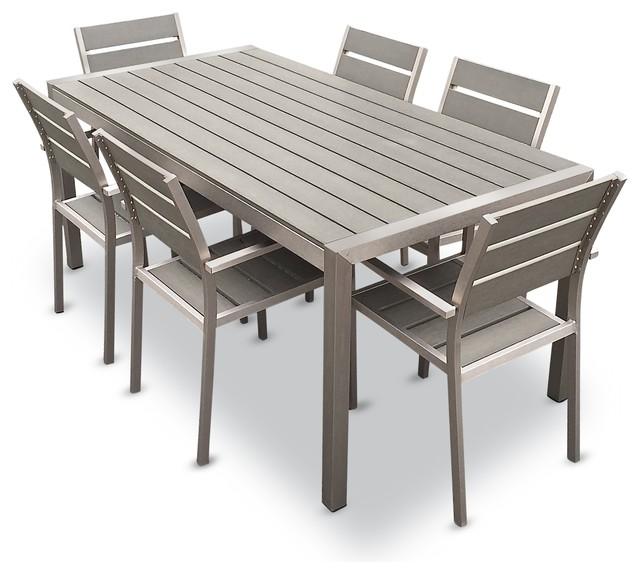 Patio En Aluminium Dinant La Chaise Et La Table Jardin Salle À Manger  Ensemble Mobilier D\'extérieur Chaise - Buy Chaise Et Table De Salle À  Manger ...