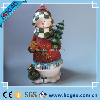 Christmas Outdoor Snowman Statues With