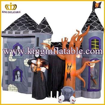 Halloween Decoratie Buiten.Buiten Grote Opblaasbare Halloween Decoratie Product Halloween Opblaasbare Spookhuis Buy Opblaasbare Halloween Product Halloween Opblaasbare