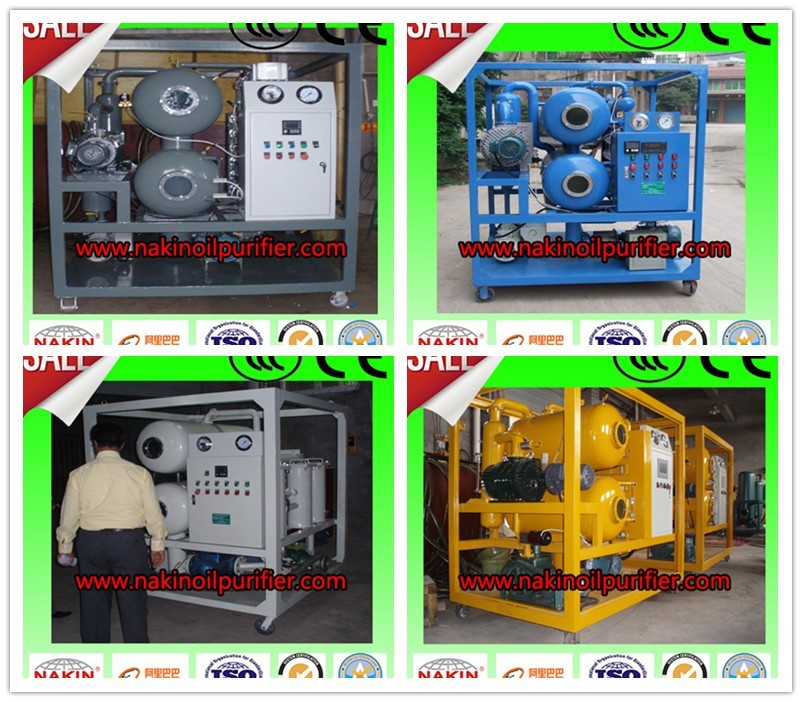 zyd double stages transformer oil purifier/vacuum transformer oil filtration machine