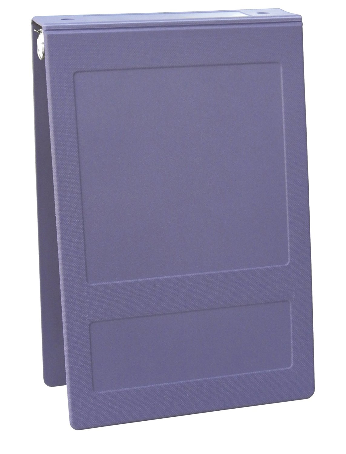 """Top Open 5 Ring Molded Binder Size: 1.5"""", Color: Lilac"""
