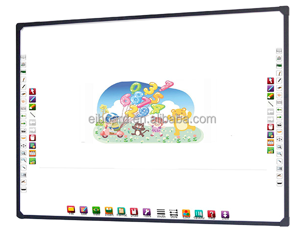 China interactive whiteboard best prices 82inch interactive electronic whiteboard Support Multi Touch