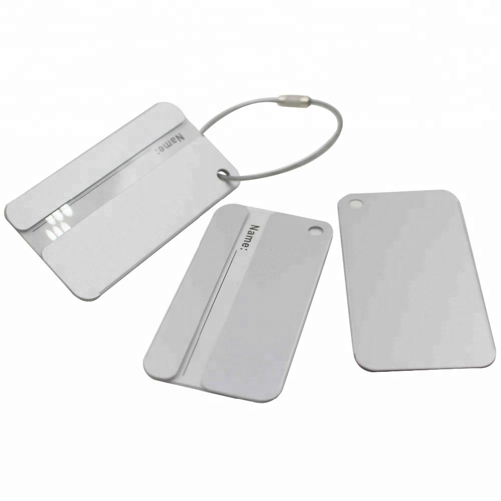 Promotion Gifts Hotel Metal Blank Luggage Tag With Custom <strong>Logo</strong>