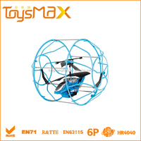 New Aerocraft 2.5 Channel RC Toy Helicopter China Prices, Flying Ball UFO toy with Protective Ring and Certificates