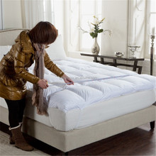 cotton white Quilted hotel duck feather down massage Mattress Topper
