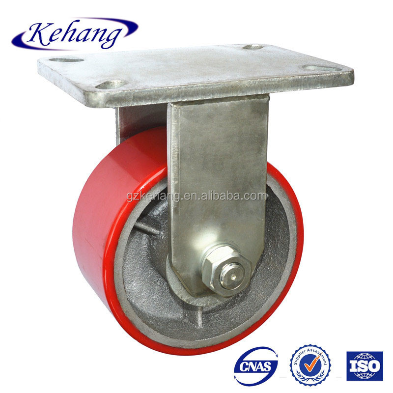 durable industrial wide pu castor heavy duty caster wheel