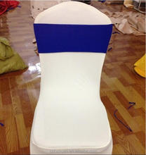 Luxury Fashion Customized Royal Blue Elastic Chair Sash
