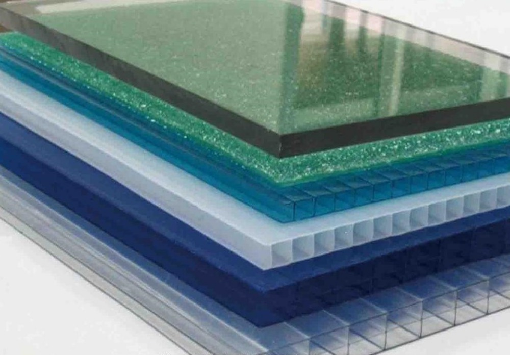 8mm espesor corrugado pl stico duro transparente de efecto for Piscina plastico duro