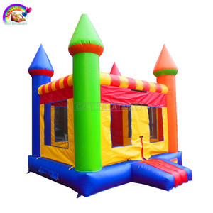 Hot sale colorful small pvc inflatable castle kids jumping bouncer for fun
