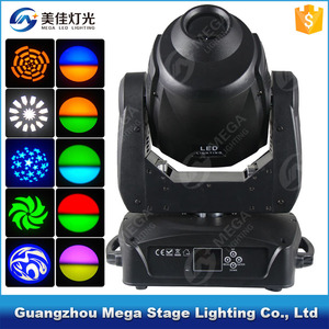 Rotation gobo wheel di lights / 150w the stage moving head led spot