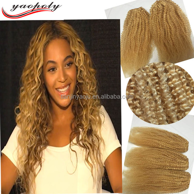 China Blonde Brazilian Curly Hair Extensions Wholesale Alibaba