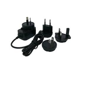 Factory Price AC DC adapter 5V 2A interchangeable AU/EU/UK/US plug USB adapter travel charger