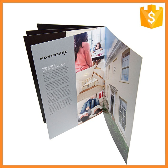 High Quality Paper Product Catalog Multi-Page Catalogs Printing
