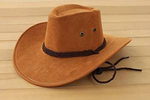 331b42e59cace Get Quotations · WINTER fashion fuax leather western cowboy hats