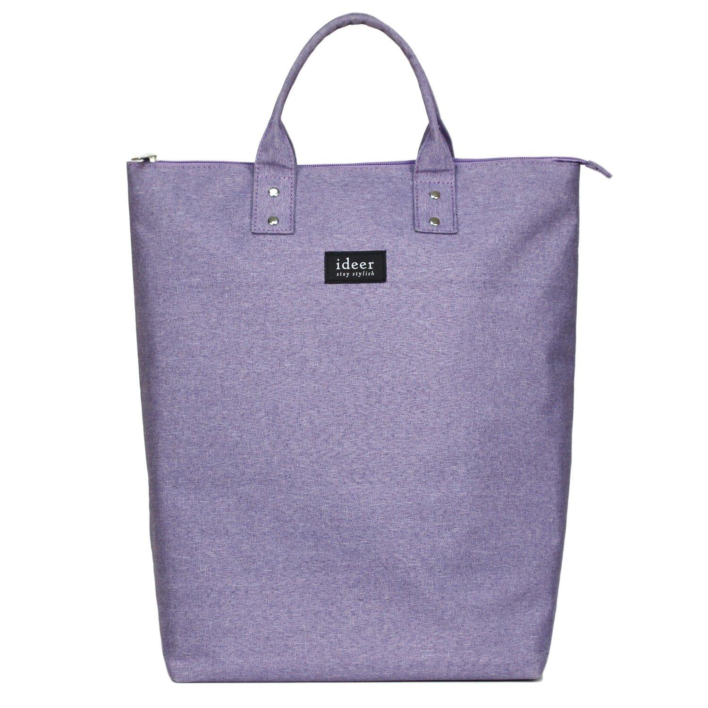 ideer Morris Lavender 2 Way Laptop Backback