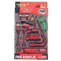 1:64 alloy toy metal fire trucks