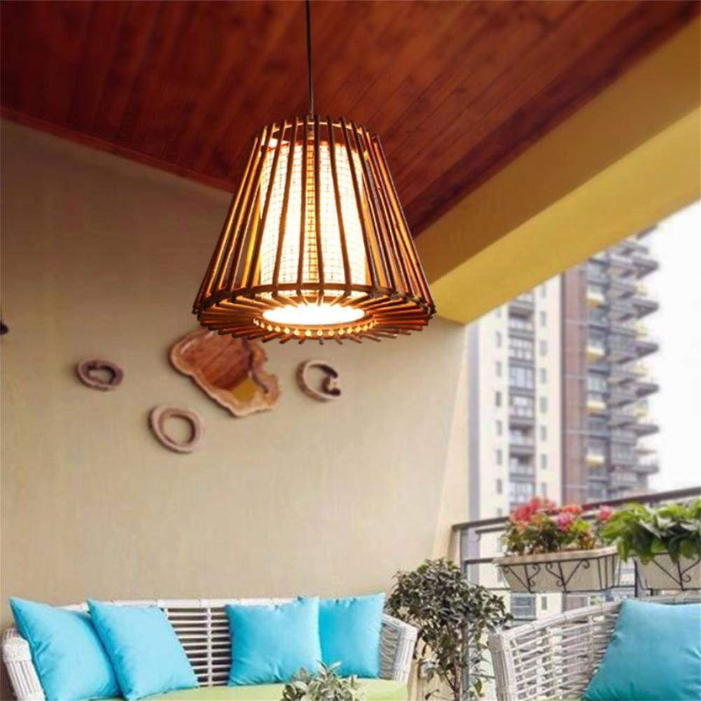 GLX Southeast Asia bamboo chandeliers, mahjong lights, antique bamboo chandeliers 35CM 110CM