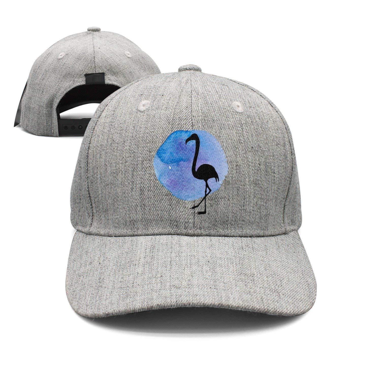 Haydner Moosers Vintage Flamingo Art Unisex Baseball Hats Adjustable Trucker Cap