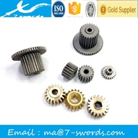 Stainless steel/steel/brass/copper/aluminum cnc turned gears