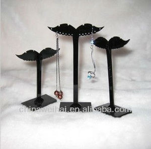 Crystal Earrings Wholesales Plexiglass Display Stand