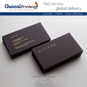 Manufacturers provide custom card printing service, business card namecard printing
